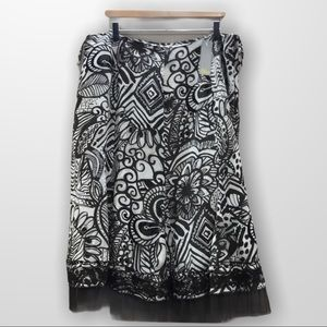 LINEA DOMANI Midi Skirt Size 16